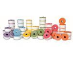 ROLLOS HYDROFIX 75MM p/registradores de caja 6 colores (10 UND POR PAQUETE DE COLOR)